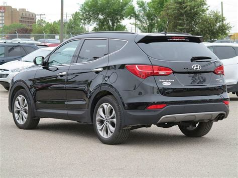 used hyundai calgary used 2015 hyundai santa fe sport for sale in calgary