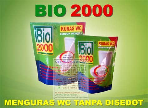 Bio 2000 Kuras Wc 500 Gram bakteri pengurai septic tank kuras wc tanpa sedot wc