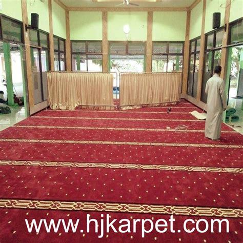 Karpet Murah Sidoarjo pemasangan karpet masjid at taqwa pondok legi sidoarjo