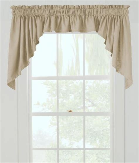 country curtains valances and swags weaver s cloth swag country curtains 174