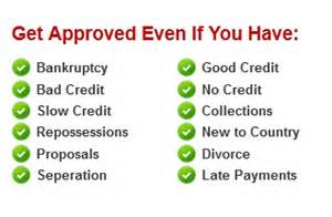 getting a new car with bad credit get approved for car loans with bad credit bad credit