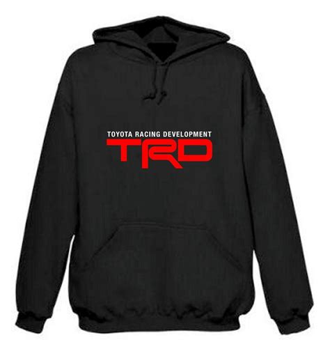 Rompi Sweater Mitsubishi Motors Cloth toyota trd racing development hoodie sweat shirt black ebay