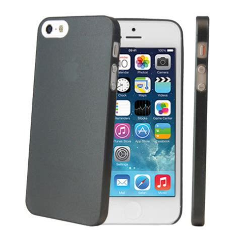 Casing Cover Ultra Thin Stealth Iphone 5 5s 5c Silicon Soft Jell ultra thin protective for iphone 5s 5 black reviews