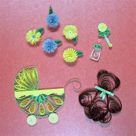 Quilting Set A Quilling Set 71 best baby quilling images on baby cards