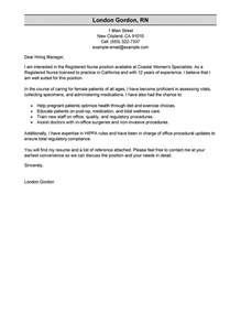 how to write a cover letter for nursing registered cover letter exles healthcare cover
