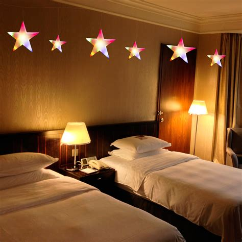 star fairy lights for bedroom 60led xmas string fairy curtain star light bedroom wedding