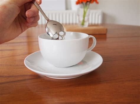 Panda Tea Spoon skull shaped tea spoons encourage you to use less sugar