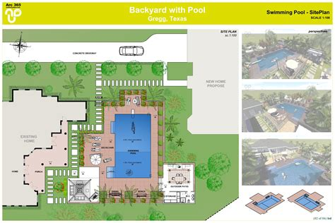 backyard landscape plan arcbazar com viewdesignerproject projectbackyard design