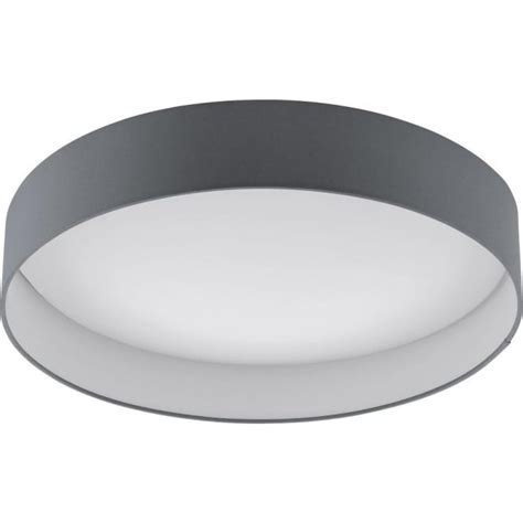 large flush ceiling light eglo lighting 93397 palomaro single light led large flush
