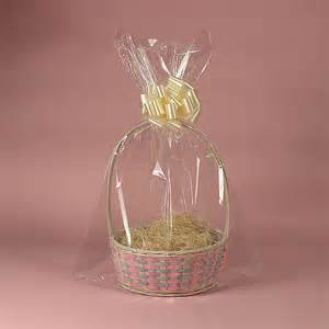where to buy cellophane wrap for gift baskets size 24x30 drop in basket bags for wrap seal gift