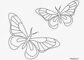 fiori e farfalle disegni farfalle da colorare