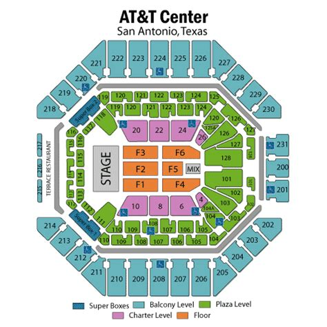 att center seating map att center spurs seating chart car interior design