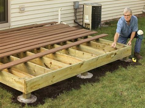 building wood decks plans deck building plans