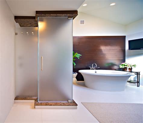 Frosted Glass Shower Door Bathroom Traditional The Reason Hardened Glass Shower Doors To Shatter