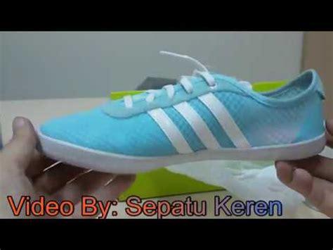 unboxing review sneakers adidas vs qt vulc sea w aq1469