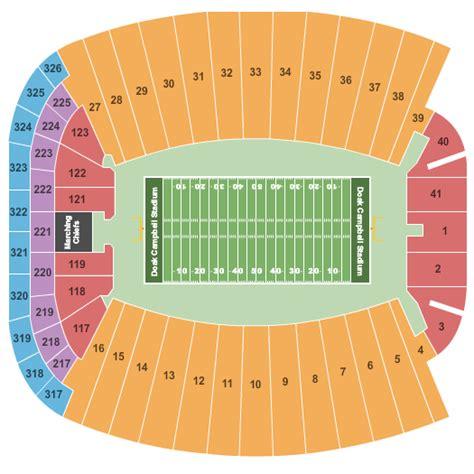 florida state stadium seating chart florida state seminoles doak cbell stadium tallahassee
