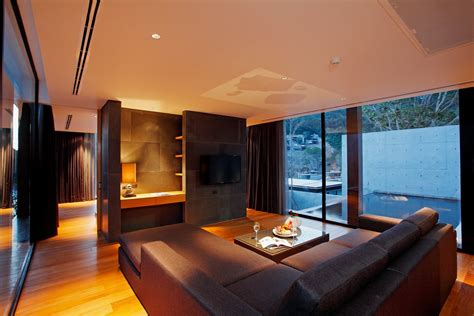 hotel with living room contemporary resort hotel naka phuket by duangrit bunnag