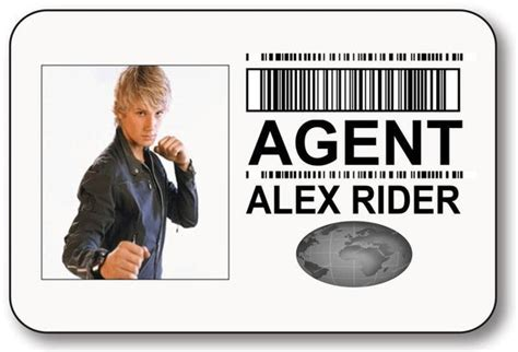 mi6 id card template alex rider safety pin fastener name badge
