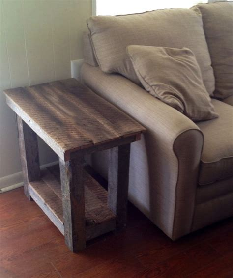 Best 25  End tables ideas on Pinterest   Wood end tables, Rustic end tables and Farmhouse end tables