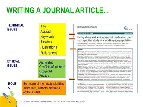 writing a paper for publication writing a paper for publication de castro the