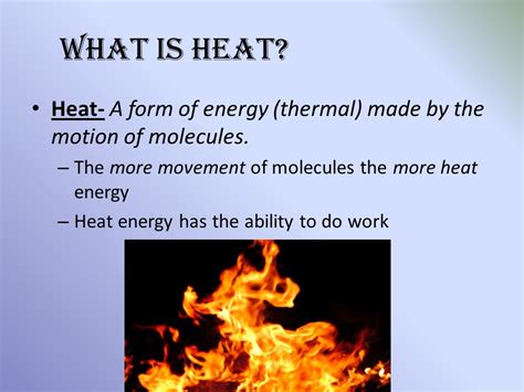 what to do when is in heat chapter 9 thermal energy ppt
