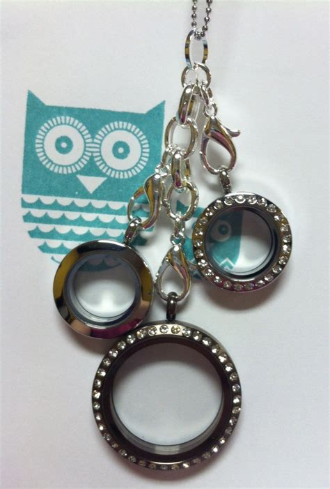 Origami Owl Large Silver Locket With Crystals - 116 best origami owl images on living lockets