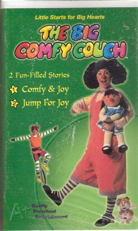 the big comfy couch vhs the big comfy couch vhs 2003 brand new comfy joy