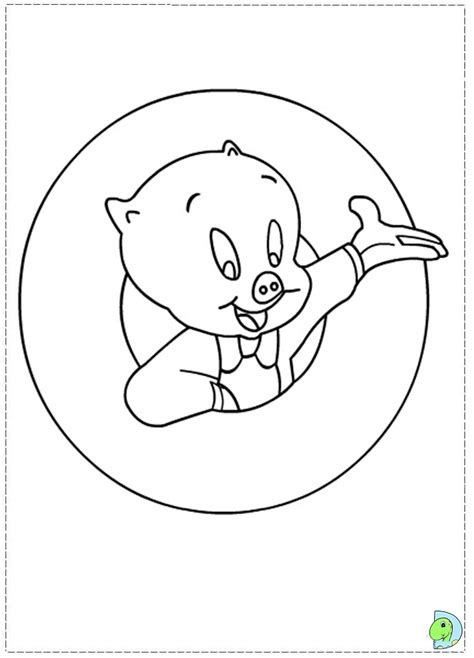 Porky Pig Coloring Pages Coloring Pages Porky Pig Coloring Pages