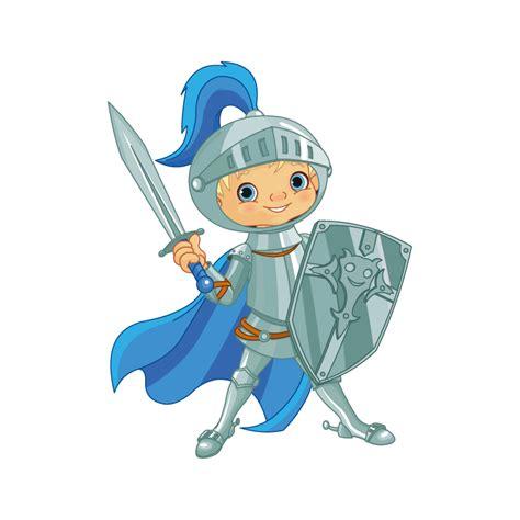 Sticker Enfant Chevalier Bleu Color Stickers
