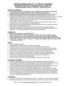 46 best business analyst resume sles for seekers