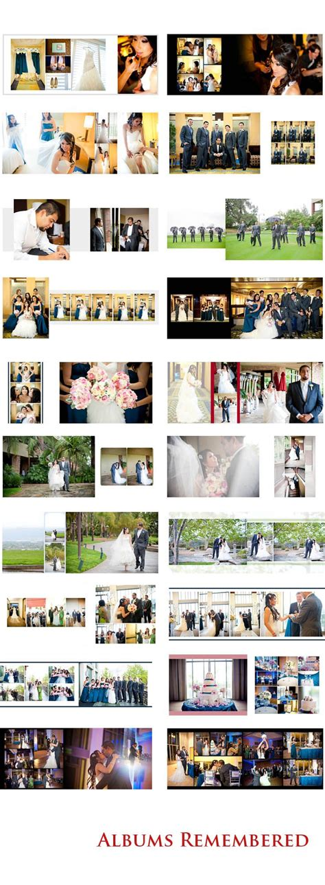 photo album layout pinterest the 25 best wedding album design ideas on pinterest