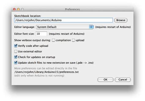 sketchbook location arduino adding sketch folders to arduino ide rex st 雷克斯 聖約翰