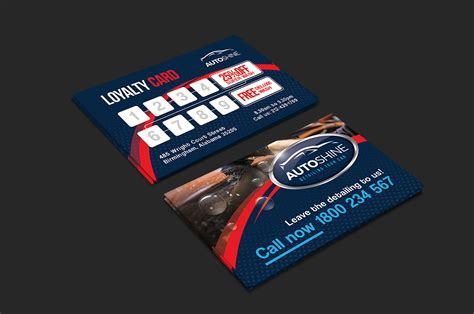loyalty card template illustrator business loyalty card template free best business cards