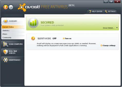 free download avast antivirus 2009 full version update free software for windows 7 8 xp download windows