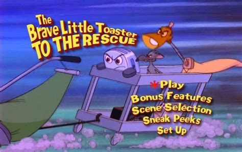 Toaster Animation The Brave Little Toaster To The Rescue 1997 Dvd Movie