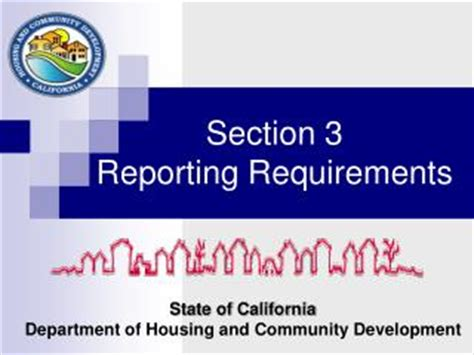 california department of housing and community development ppt requirements from application section powerpoint presentation id 2497495