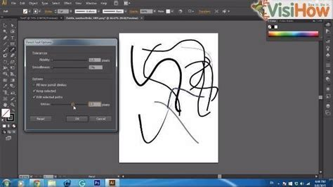 adobe illustrator cs6 use use pencil tool in adobe illustrator cs6 visihow