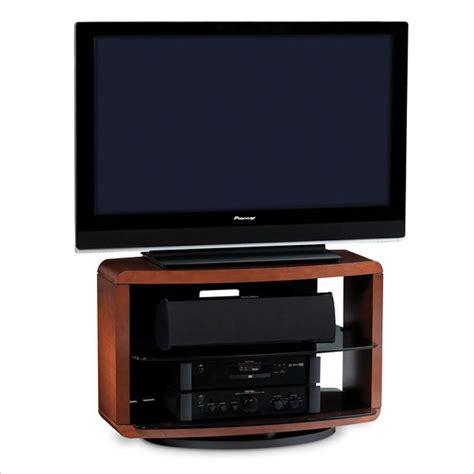 valera single wide 3 shelf swivel tv stand in