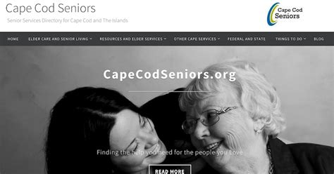 elder services cape cod our newly updated website cape cod seniors