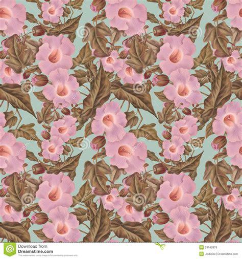 flower pattern vintage pink antique vintage antique pink flower pattern stock