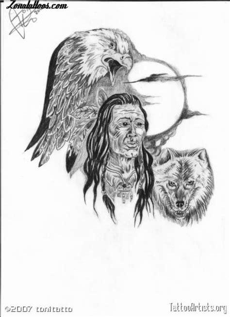 dise 241 o de indios 193 guilas lobos