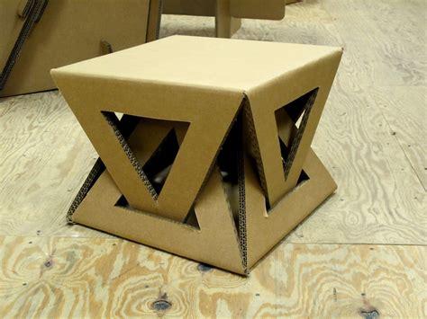 cardboard crafts for cardboard table muebles de cart 243 n cardboard furniture