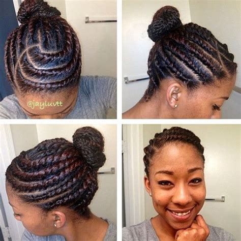 protective hairstyles buns 170 best images about cornrows on pinterest black women