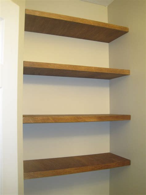 Bathroom Wall Shelves Wood Designed To Dwell Adding Storage In A Tiny Bathroom