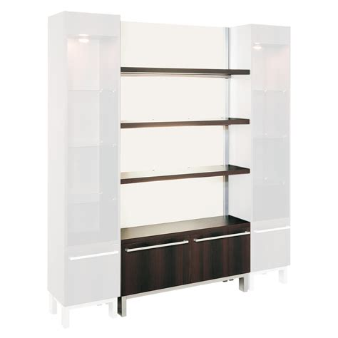retail bookshelves hair salon storage cabinets