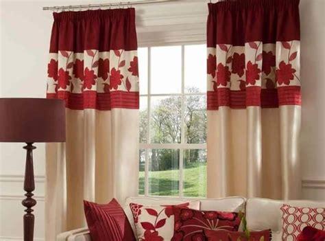 pattern kain langsir terkini idea langsir terkini moden dengan warna merah langsir