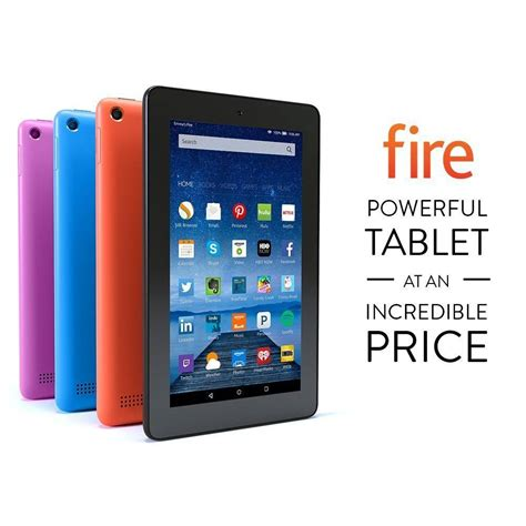 amazon tablet deal amazon fire tablet for 39 99 5 2 16