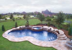 Trees For Small Backyards 15 Remarkable Free Form Pool Designs Home Design Lover