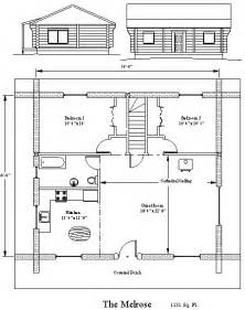 Blueprints For Small Homes The Melrose Log Home Plans By Heartwood Log Homes