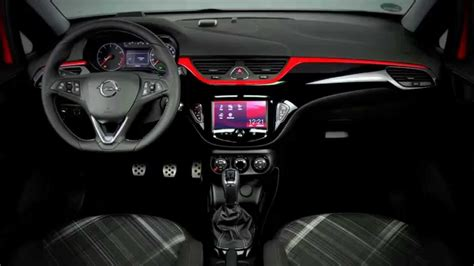 vauxhall corsa inside new 2015 opel corsa interior youtube